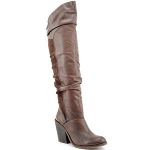 Lucky Brand 'Edina' Over the Knee Slouch Boot